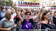 Spanien Barcelona | Protest gegen Verurteilung von Politikern
