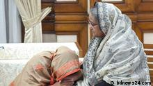 BUET student Abrar Fahad (Who murdered in few days ago) family members meet with Prime Minister Sheikh Hasina on Ganabhaban (BD PM Official residence) in Dhaka on 14 October.