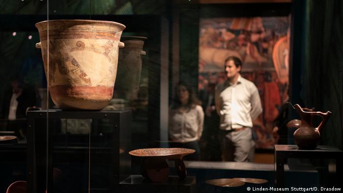 Eröffnung Austellung Azteken im Lindenmuseum in Stuttgart (Linden-Museum Stuttgart/D. Drasdow)