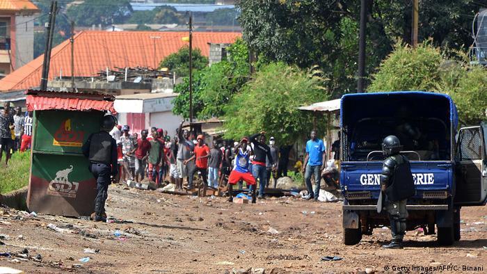 Prison ferme pour les meneurs de la contestation anti-Condé en Guinée