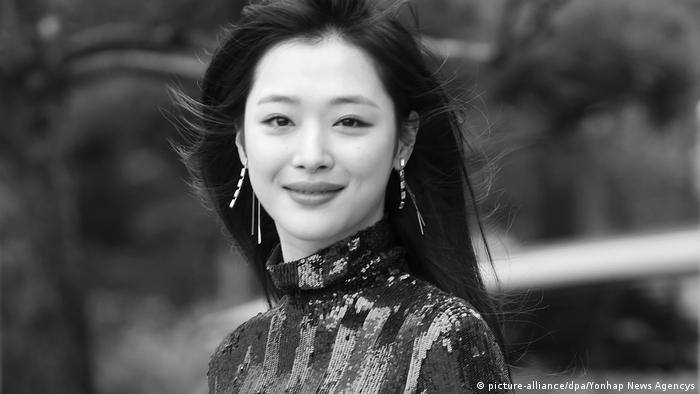 Südkorea Sängerin Sulli