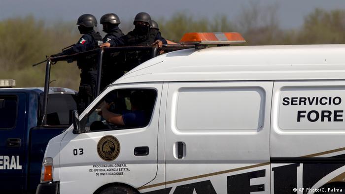 Policías en México.