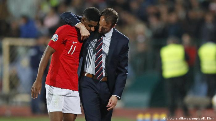 England coach Gareth Southgate let players decide if they wanted to stay in the match