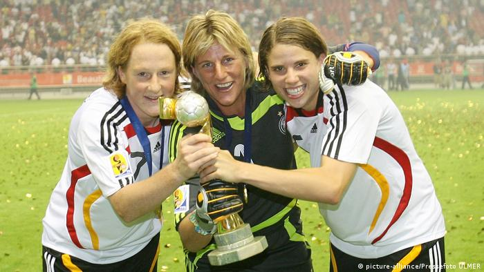 Germany's women have won two World Cups (picture-alliance/Pressefoto ULMER)