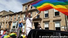Scotland Pride parade in Glasgow