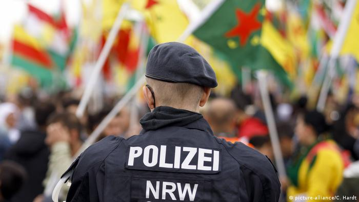 Kurdish demonstration