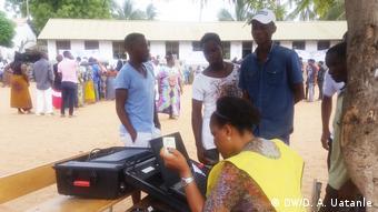 Wahlen in Mosambik STAE