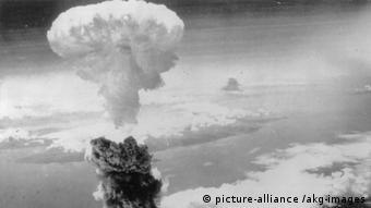 Ядерный гриб над Нагасаки - 9 августа 1945