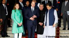 Pakistan | Prinz William und Catherine mit Imran Khan in Islamabad