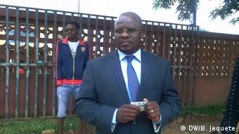 Alfredo Magumisse, Kandidat von RENAMO, Chimoio, Mosambik