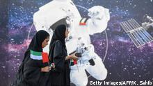 Astronaut - Hassa al-Mansuri (Getty Images/AFP/K. Sahib)