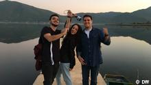 Lorin Ladiu, Efterpi Mouzakiti und Petar Dogovr