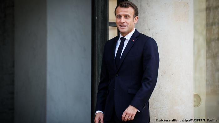 Paris | Emmanuel Macron at the Elysee Palace