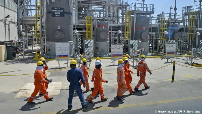 Saudi Arabien | Angestellte der Aramco Oil Company