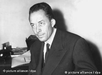 آلبر کامو (۷ نوامبر ۱۹۱۳ − ۴ ژانویه ۱۹۶۰)