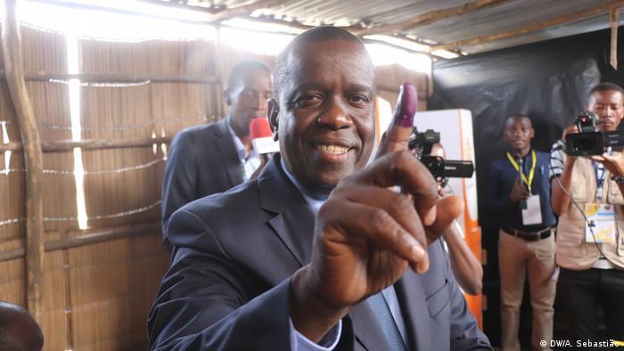 Daviz Simango (MDM) – Wahlen in Beira