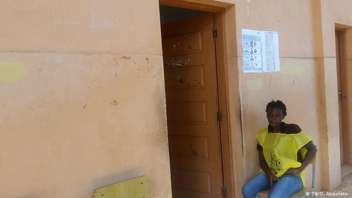 Wahllokal in Pemba, Cabo Delgado, Mosambik