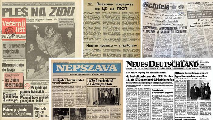 Вестниците от онези паметни дни