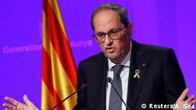 Spanien Barcelona | Quim Torra, Präsident Regionalregierung von Katalonien