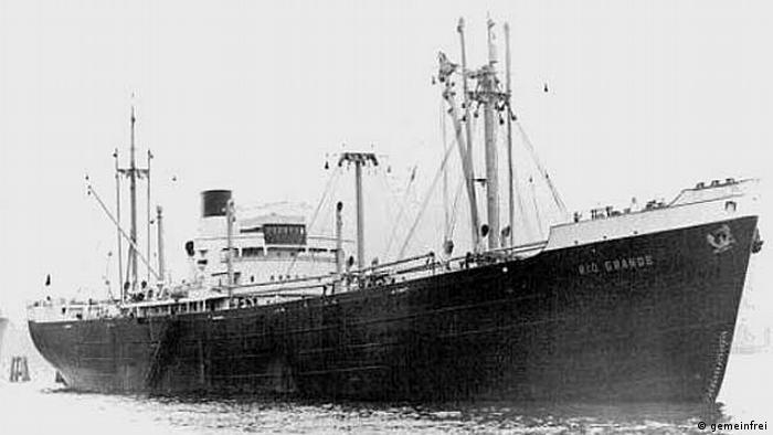 Brod Rio Grande prevozio je kaučuk iz Japana za Njemačku