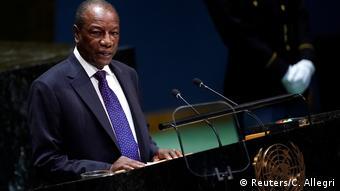 Alpha Conde, Präsident von Guinea