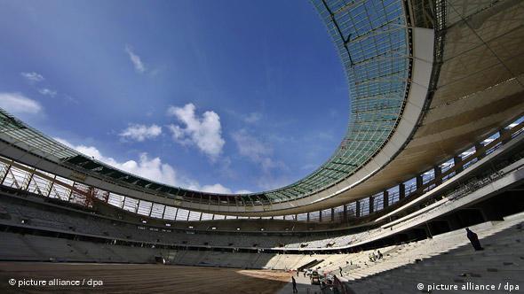 Südafrika Fußball Greenpoint Stadion in Kapstadt Flash-Galerie