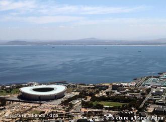 Стадион Green Point в Кейптауне