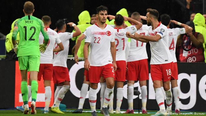 EM Qualifikation 2020 - Türkei vs. Frankreich (Getty Images/M. Bureau)