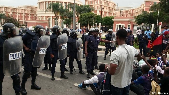 Protest in Luanda