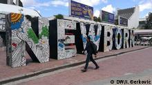 Denkmal 'Newborn' in Pristina, Kosovo
