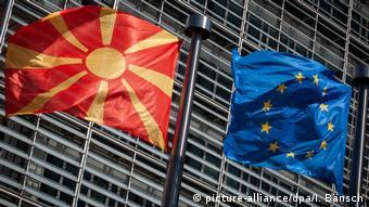 Nordmazedonien und EU (picture-alliance/dpa/I. Bänsch)