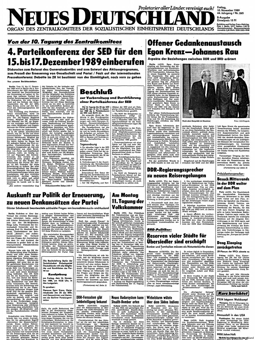 How The Press In Eastern Europe Reacted To The Fall Of The