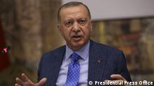 Türkei PK Erdogan Syrien Invasion