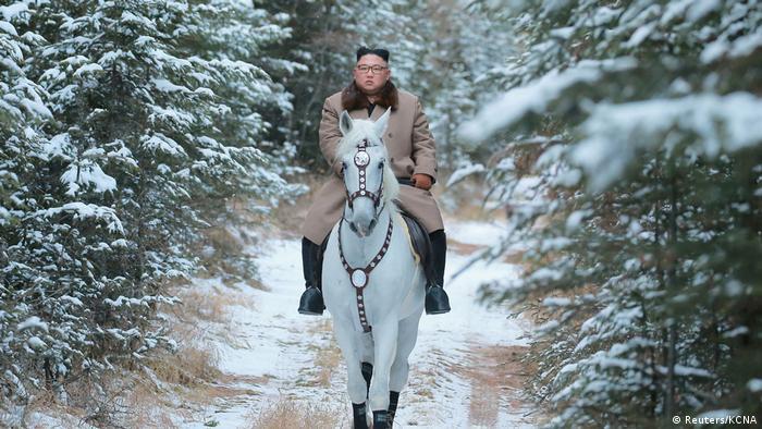 Bild des Tages: Der weiße Ritter von Pjöngjang