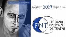 Logo Nationales Theaterfestival Bukarest FNT