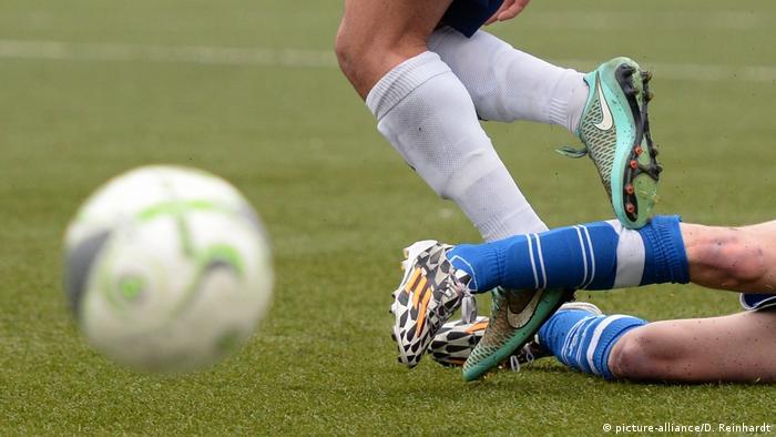 Foul im Amateurfußball