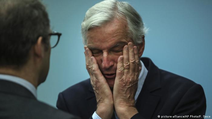 Belgium Europe Brexit Michel Barnier (picture-alliance/AP Photo/F. Seco)