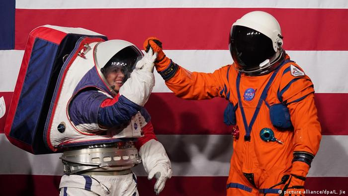 NASA unveils new generation spacesuits