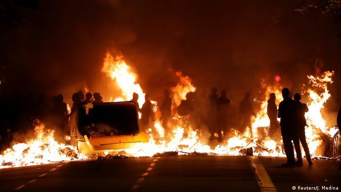 Spanien | Katalonien | Protest | Ausschreitung (Reuters/J. Medina)