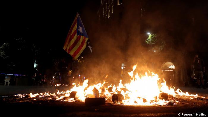 Spanien | Katalonien | Protest | Ausschreitung