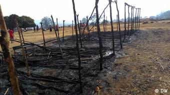 Mosambik Wahllokale und Wahlurnen in Niassa abgebrannt