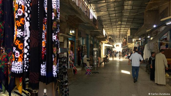 Markt in der kurdischen Stadt Amude nahe der türkischen Grenze
