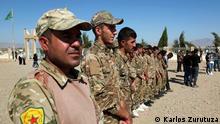 Syrien | Zivilisten fliehen vor türkischer Militäroffensive