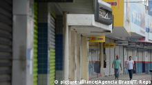 Brasilien Geschlossene Geschäfte in Vitoria