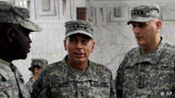 high-ranking US commanders in Baghdad
