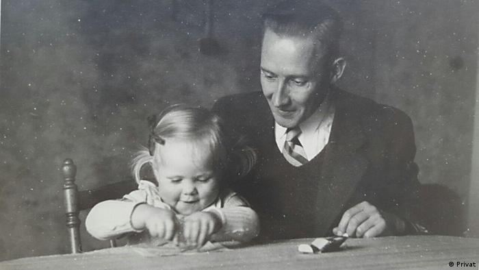 Wehrmacht officer Georg Gleiss with his daughter (Privat)