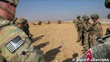 US und türkische Truppen Syrien