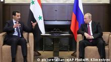 Vladimir Putin und Bashar al-Assad