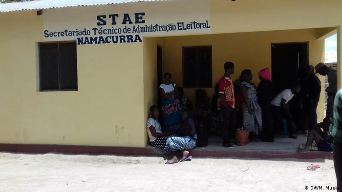 Mosambik STAE Namacurra