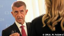 Tschechien Prag Premierminister Andrej Babiš